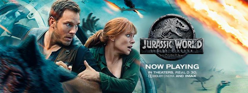 Review: Jurassic World: Fallen Kingdom (2018)