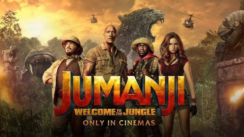 Review: Jumanji: Welcome to the Jungle (2017)