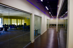 Corridor with Conference Room