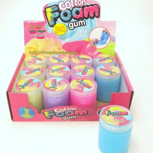 Cotton Foam Slime Gum