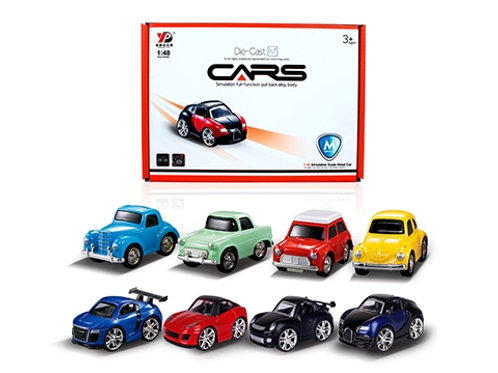 Pull Back Cars Die Cast
