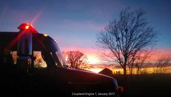 Outside Fire January 2017 - Engine 1