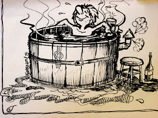 hot-tub cartoon