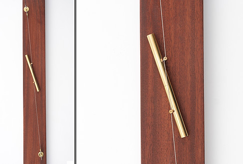Mezuzah with a taut cable, 2000