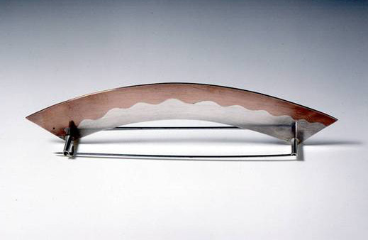 Brooch 1994Silver, Copper, Stainless Steel