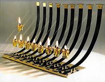 Hanukkah Lamp (Menorah), 1983