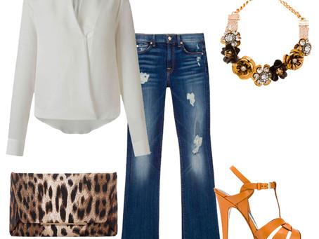 4 looks e um jeans viajante