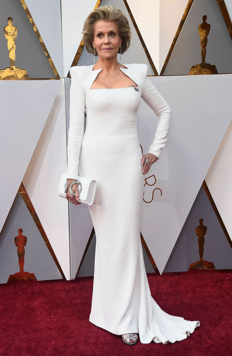 Oscar 2018 Personal Stylist BH Consultoria de Estilo e Imagem Jane Fonda Balmain