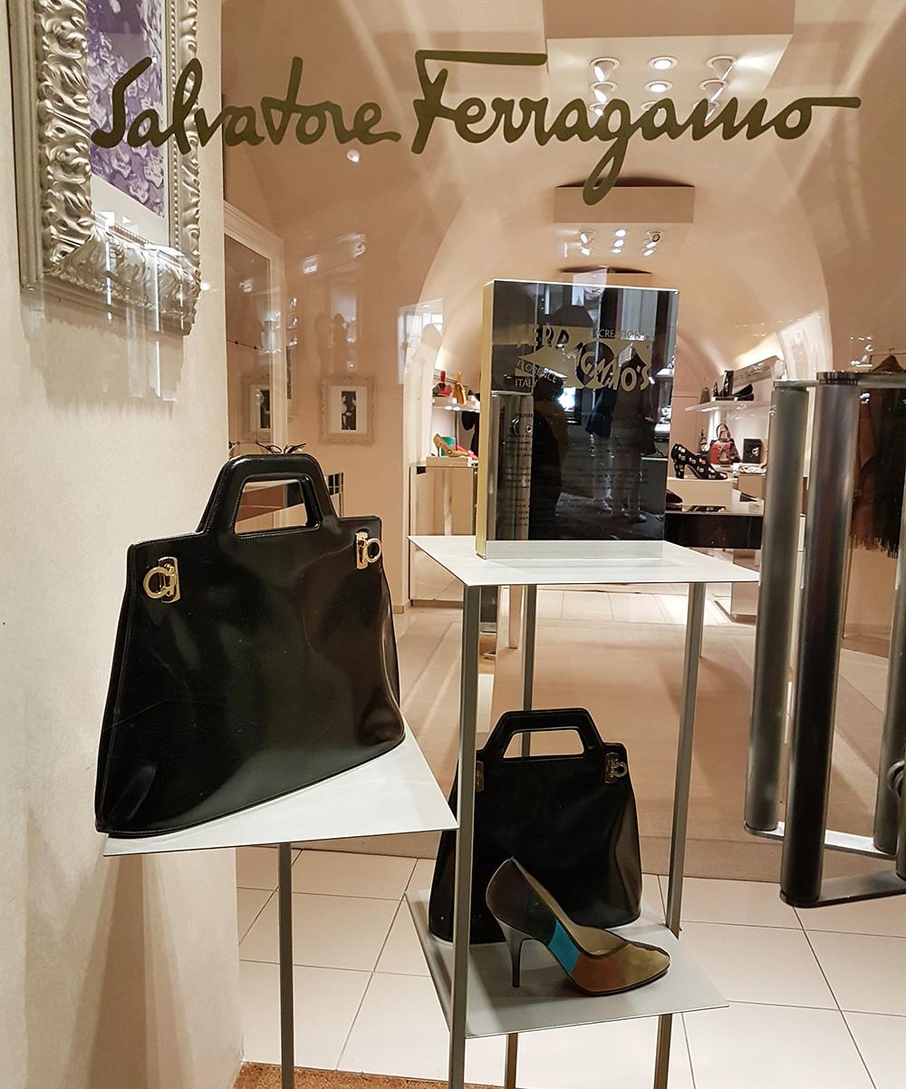 Loja Edição Limitada Salvatore Ferragamo em Capri