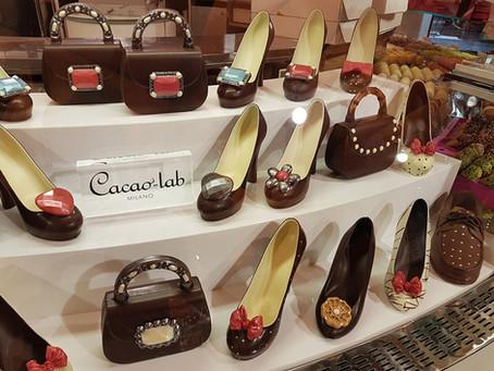 Duas paixões femininas – Sapatos e Chocolate
