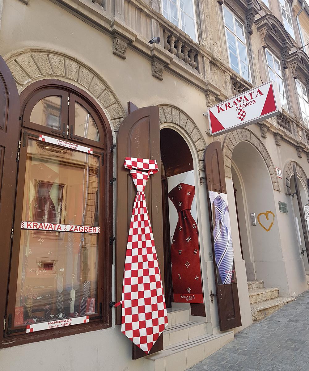 A Origem da Gravata Croacia Zagreb Personal Stylist BH