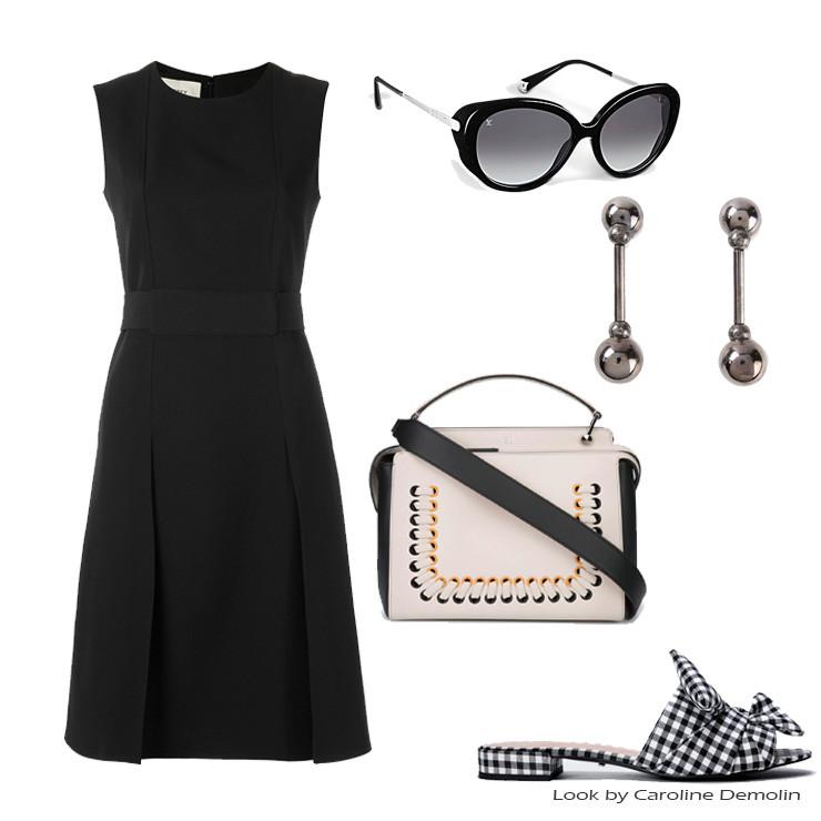 Look com xadrez vichy personal stylist bh consultoria de estilo