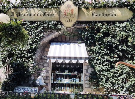 Dicas de viagem – Descubra uma perfumaria com os aromas de Capri