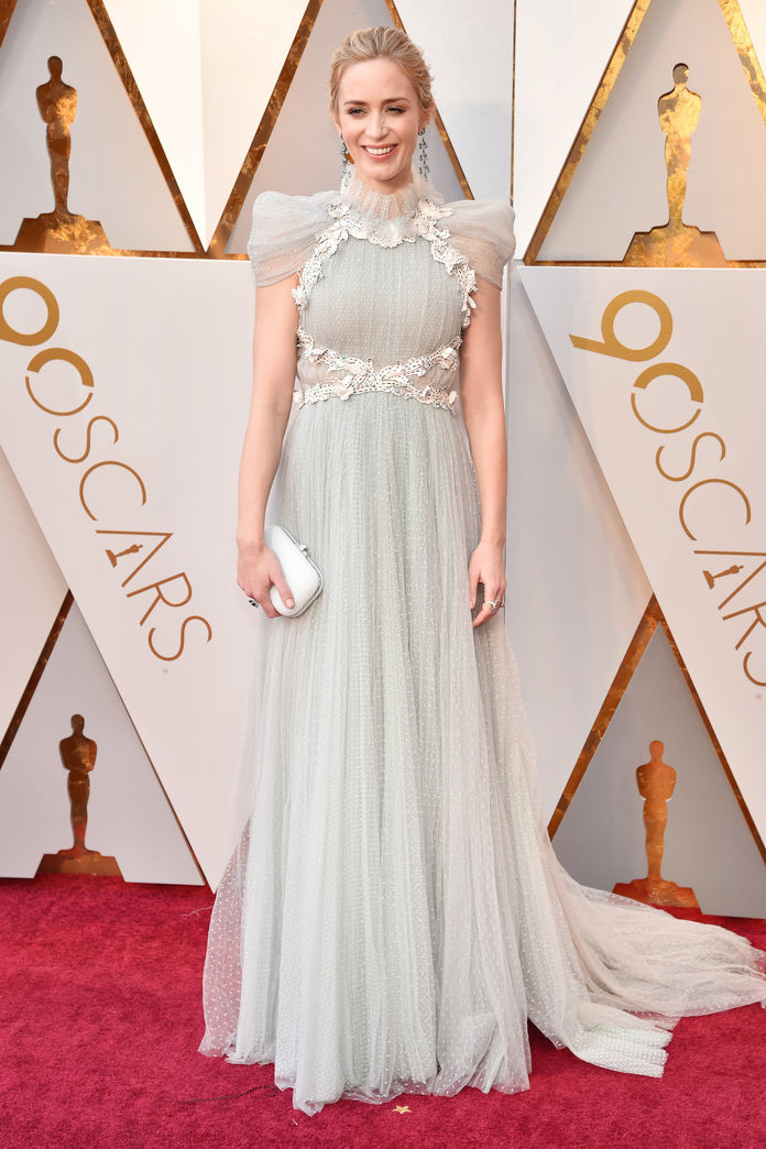 Oscar 2018 Personal Stylist BH Consultoria de Estilo e Imagem Emily Blunt Chiaparelli