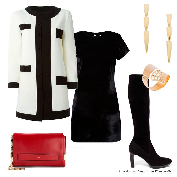 Looks-feminino-preto e branco-Personal Stylist BH-consultoria estilo-imagem