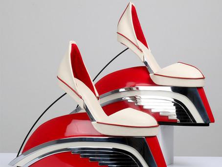 Os mais Incríveis calçados no Museu Virtual de Sapatos
