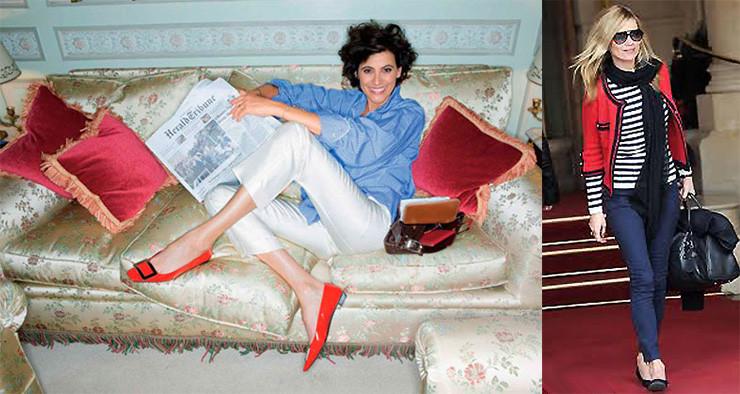 Consultoria de Estilo Personal Stylist BH sapatilhas  moda Kate Moss Ines de la Fressage