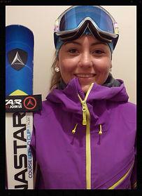 Natalie Beattie Ski Race Coach