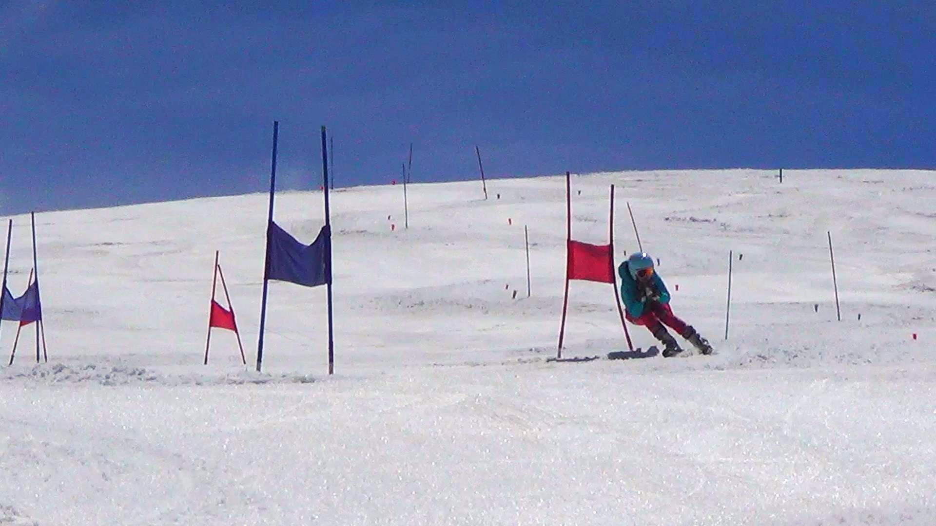 Kids Ski Race Training