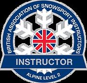 basi 2 ski instructor badge