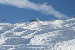 Blake Williams mogul skiing