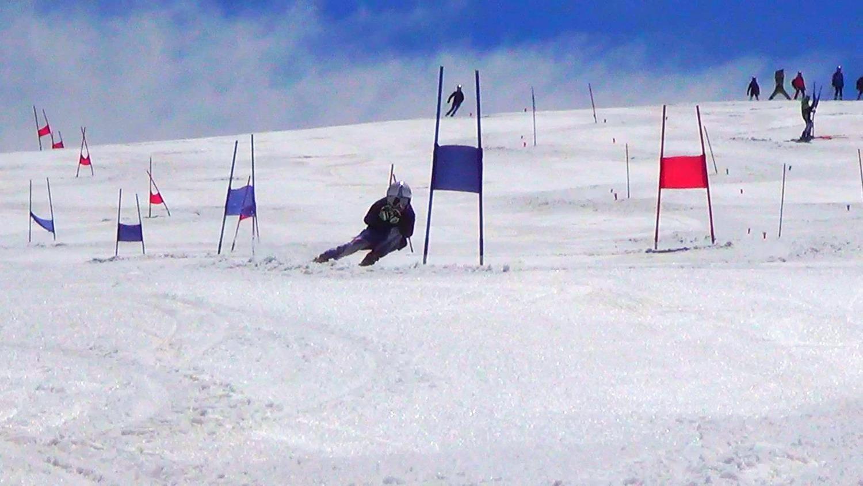 GS Training Flats at Summer Ski Camp