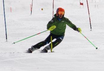Slalom Training kids ski camp