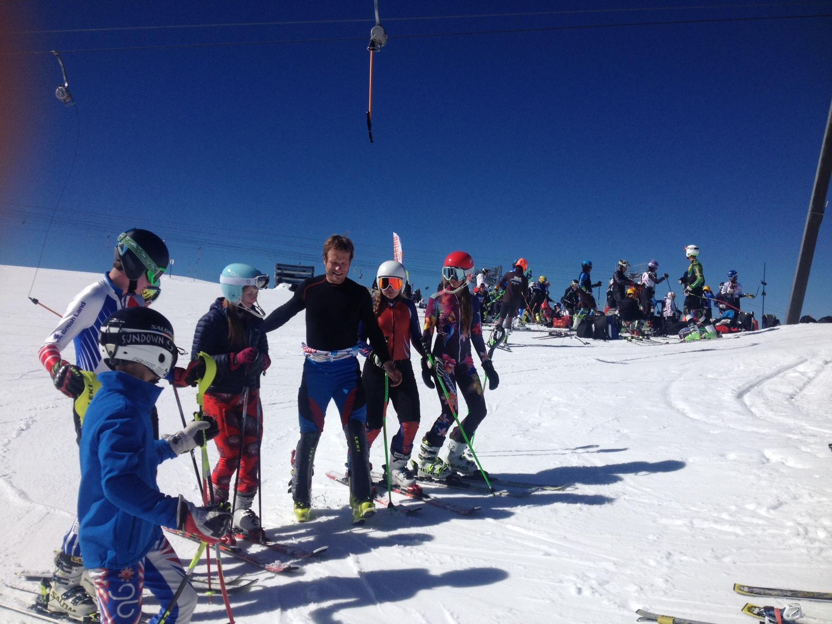 Julien Lizeroux meets the kids