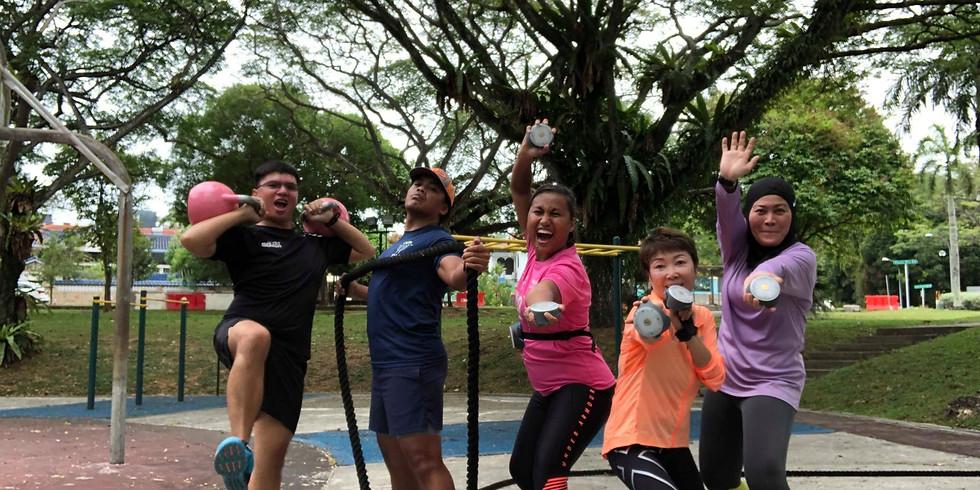 Team Land Training- Personal Challenge