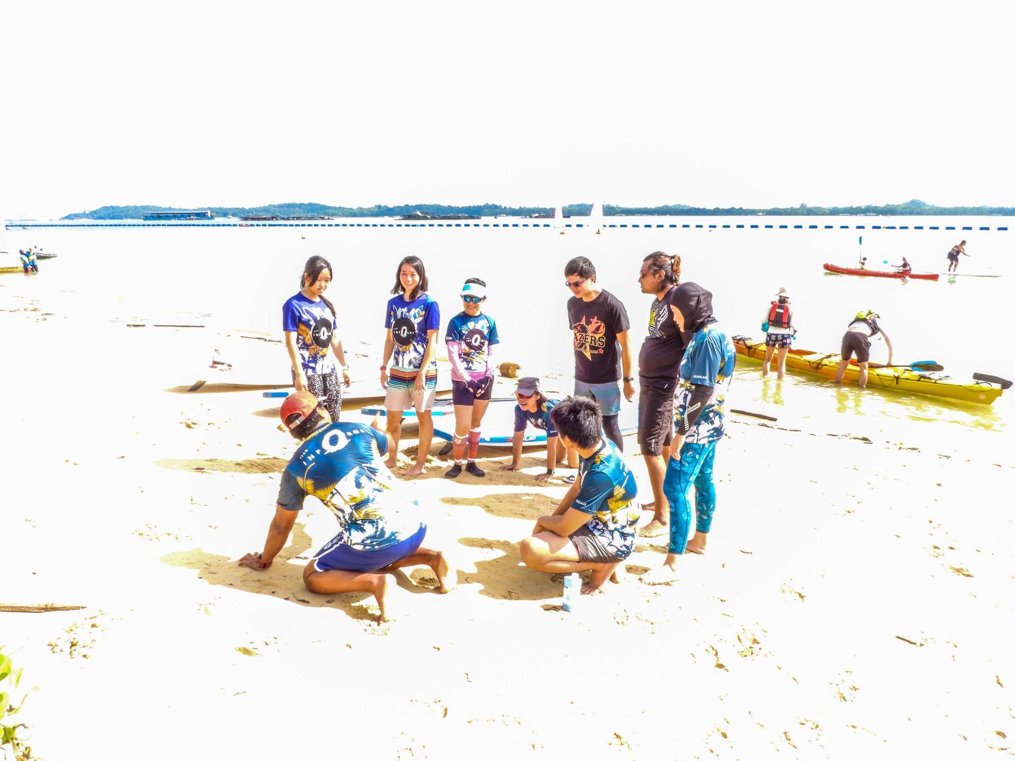 Team Training with Coach Hardi