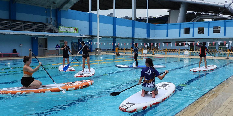 Let's Walk on Water - Adults SUP Beginner