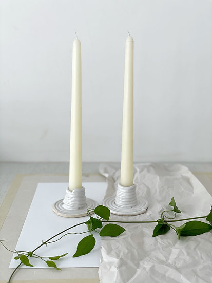 Thin Single Coil Candle Holder