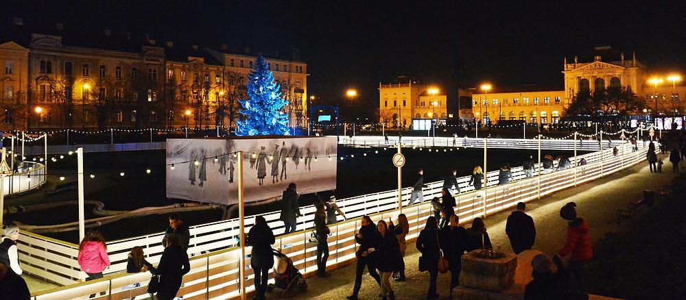 Natal na Europa em Zagreb, Croácia