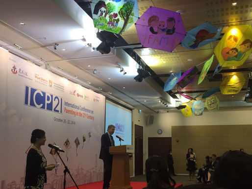 ICP21國際會議 International Conference on Parenting in the 21st Century 2016