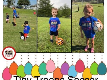 Month of the Military Child with Tiny Troops Soccer