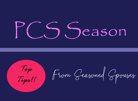 Top PCS tips from others who have been there!