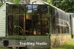 class/rehearsal studio exterior