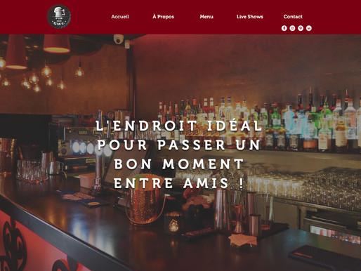 Création d'un template d'un site de Restaurant/Bar