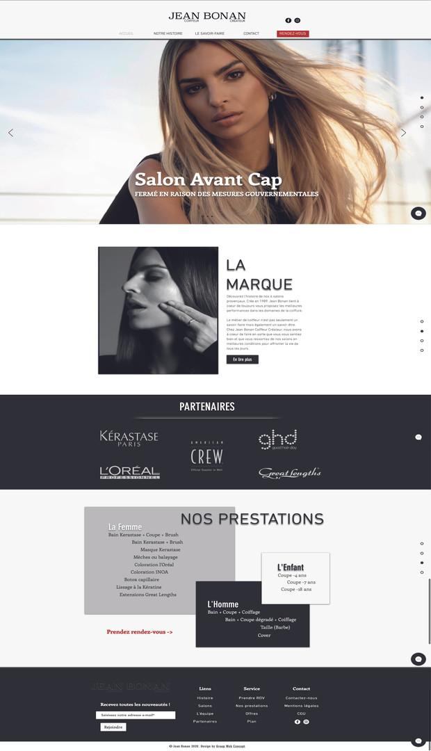 Site internet Jean Bonan