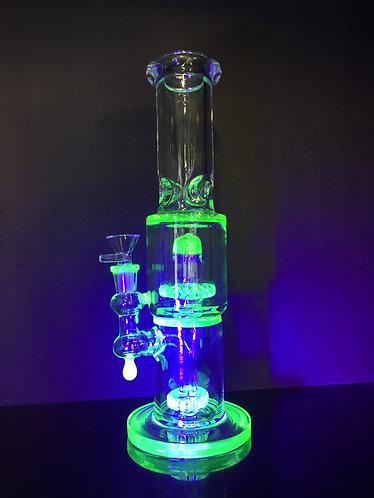Black light water pipe