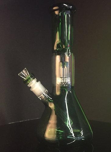Green beaker shower head perk Water pipe
