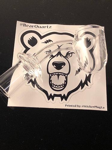 Bear quartz round botyom 14 female 45°