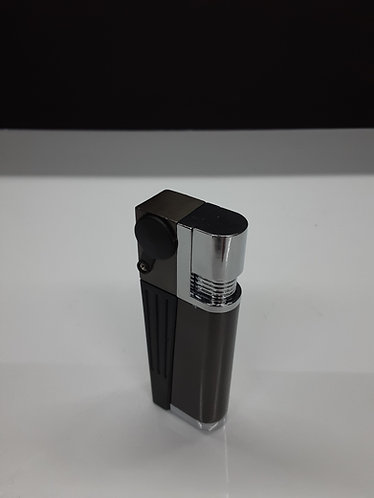 Lighter with built-in pipe