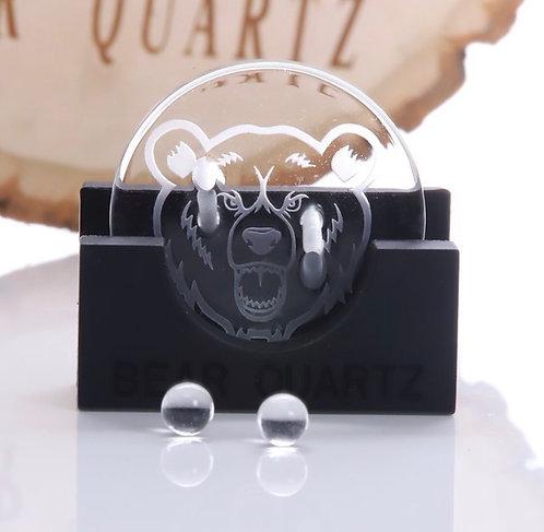 Bear Quartz Disk Spinner Cap