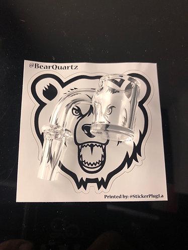 Bear quartz 10 male 90°