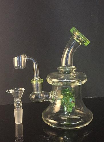 Slime green alien/monster water pipe