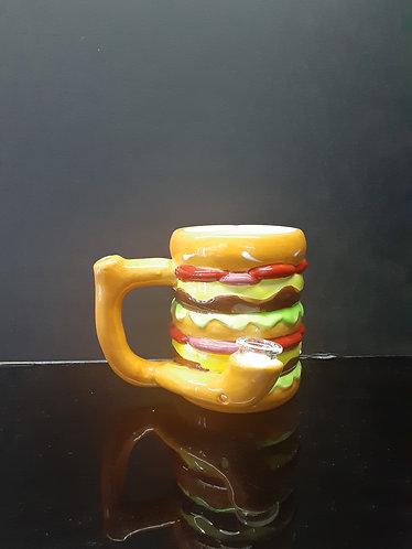 Hamburger mug pipe