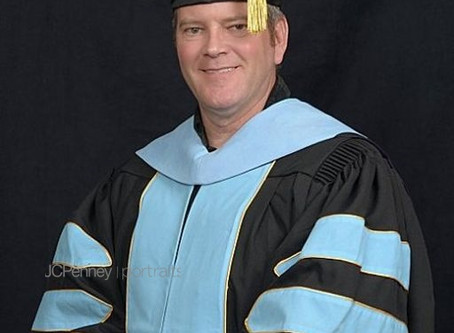 Congratulations Dr. Glenn Letteer !