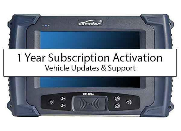 Lonsdor Yearly Subscription k518ise/usa