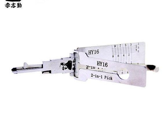 ORIGINAL LISHI HY16 / HYN14 / Hyundai / 2-in-1 Pick & Decoder
